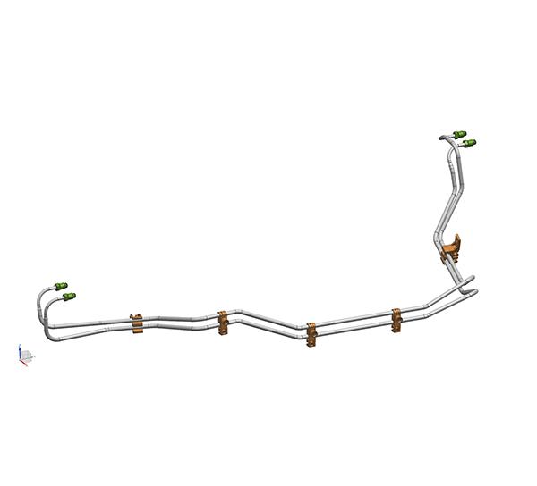 前制动管组件(8-6.35PA)