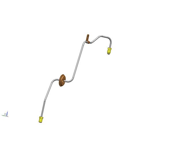 左前轮制动管(4.76PVF)