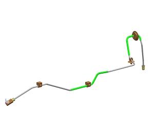 右前轮制动管(4.76PVF)