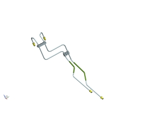 前制动管组件(4.76PVF)