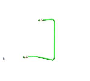 荆大汽配前制动管1(6.35PA)