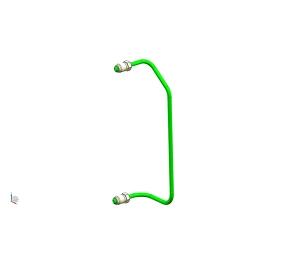 荆大汽配前制动管2(6.35PA)