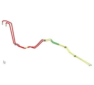 前制动管组件+铝箔套管(4.76PVF)