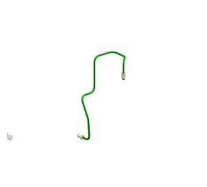 荆大汽配左前轮制动管(4.76PVF)