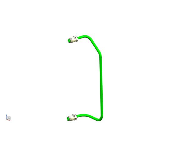 Front brake pipe 2(6.35PA)