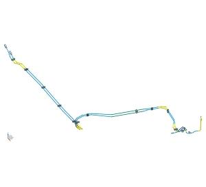 Rear Brake Tube Assembly(4.76PVF)