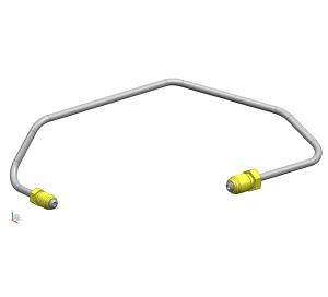 Front brake pipe 2(4.76PVF)