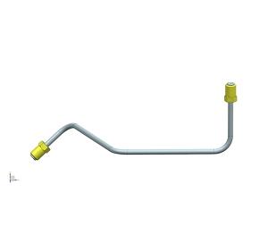 Front brake pipe 1(4.76PVF)